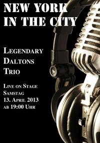 Legendary Daltons Trio live im New York in the City