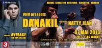 Danakil [F] ft. Natty Jean [Senegal] + support AVERAGE [A]@Fluc / Fluc Wanne