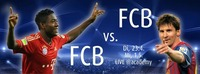 Champions League Live in der academy - FCB vs. FCB@academy Cafe-Bar