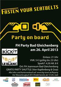 Fasten Your Seatbelts - Party On Board