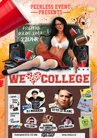 Peerless Event pres.: We love College