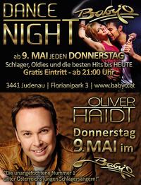 Die Dance Night mit Gastauftritt Oliver Haidt Live