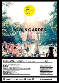 Pool & Garden Opening - 2days/1night + CL Halbfinale ScreeningBBQ@Pratersauna