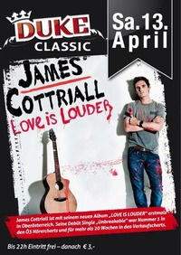 James Cottriall Live