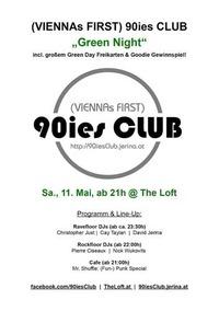 90ies Club: Green Night@The Loft