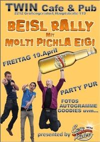 Beisl Rally mit Molti, Pichla & Eigi@Twin Pub