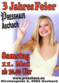 3 Jahres Feier im Presshaus Aschach