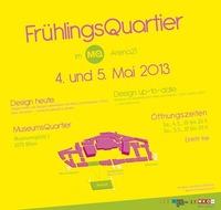 Design heute. Beim FrühlingsQuartier im MQ