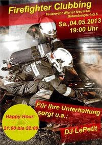 Firefighter Clubbing@Feuerwehr Wiener Neustadt