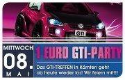 1 Euro GTI Party@Bollwerk