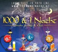 Aktionswoche@1001 & 1 Nacht – Shisha Lounge