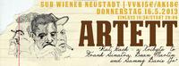 Artett Live mit Rat Pack - A Tribute To Frank Sinatra, Dean Martin und Sammy Davis Jr.@SUB