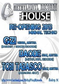 Minimal Techno - Re-Opening Full House 2013@Full House