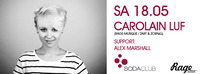 Carolain Luv (RAGE-Musique / Zart & Zornig) & Alex Marshall (SodaClub Salzburg)@Soda Club
