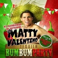 Tequila Bum Bum Party mit DJ Matty Valentino@Disco P2