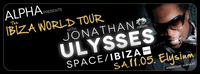 Alpha presents Ibiza World Tour 2013 with Jonathan Ulysses  Elysium Wiens aufregendste Innenstadtlocation