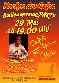Garden Opening Party - Noches de Salsa@Sri Lanka-Restaurant Colombo Hoppers