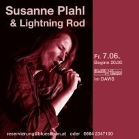 Susanne Plahl & The Lightning Rod@Davis