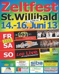 MegaEvent Zeltfest St. Willibald