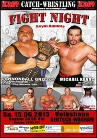 EWA Catch Wrestling Show@Volkshaus Deutsch Wagram