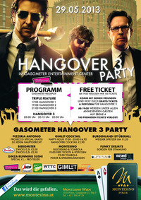 Hangover 3 Party@Hollywood Megaplex - Gasometer