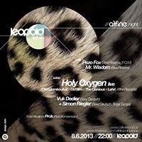 Leopold lädt Ein / Affine Night: Holy Oxygen x Sexy Deutsch@Café Leopold