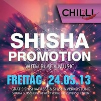 Shisha Promotion@Chilli Bar
