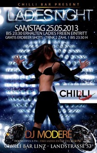 Ladies Night  Chilli Bar Linz