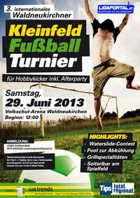 3. internationales Waldneukirchner Hobbyturnier@Sportplatz Waldneukirchen
