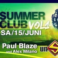 Summerclub Vol. 1 mit Sido Dj Paul Blaze@Schlag 2.0