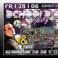Schools Out mit Gordon  Doyle@Excalibur