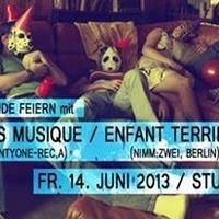 Freunde Feiern mit Nuts Musique, Enfant Terrible, Ed Royal