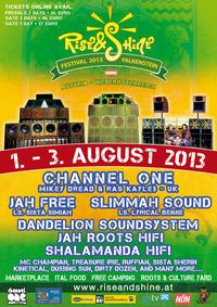 Rise & Shine Festival 2013