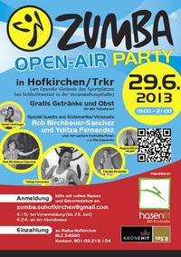 Größte Zumba Open-Air Party Österreichs@Sportanlage