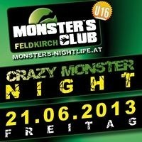 Crazy Monster Night@Monsters Clubs
