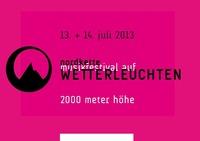 Nordkette Wetterleuchten Festival@Seegrube Nordkette Innsbruck