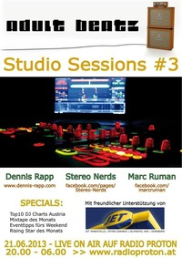 Adult Beatz #40 - Studio Sessions #3@Proton - das feie Radio