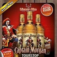 Captain Morgan Tourstop in der LINZER ALM