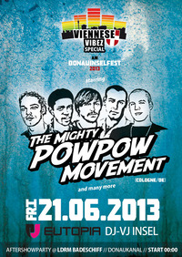 Viennese Vibez Special starring Pow Pow Movement@Badeschiff