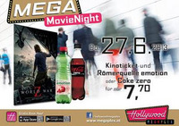 Mega MovieNight: World War Z in 3D