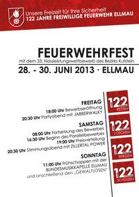 122 Jahre FF Ellmau Feuerwehrfest & 33. Nassleistungswettbewerb des Bezirks Kufstein@Festgelände