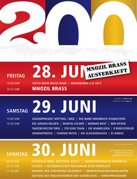 200 Jahre Stadtmusikkapelle Hötting - Das Festival@Vereinsheim Hötting