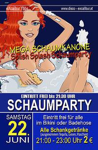 Splish Splash Schaumparaty