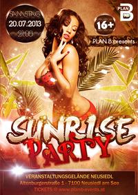 Sunrise Party@Veranstaltungsgelände