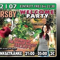 Somersby Welcome Party@Excalibur
