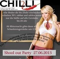 Shools out Party@Chilli Bar