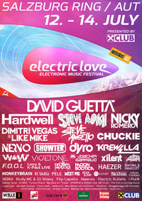 Electric Love Festival 2013@Salzburgring