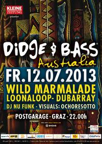 Didge & Bass Australia@Postgarage