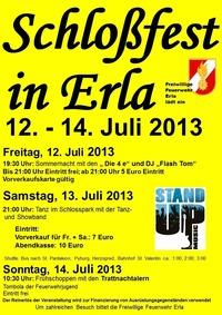 Schlossfest@Schlosspark Erla