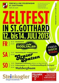 Zeltfest der FF St. Gotthard@Festzelt